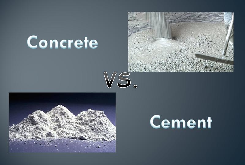 Concrete vs. Cement: Historical Aspects, Components, Modern Use ...Concrete vs. Cement: Historical Aspects